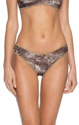 Becca Purfection Leopard Print Hipster Bikini Bottoms