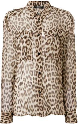 Twin-Set leopard print shirt