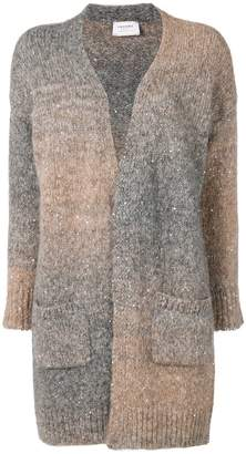 Snobby Sheep long open faded cardigan