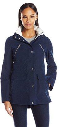 Nautica Women's Hooded Anorak $150 thestylecure.com