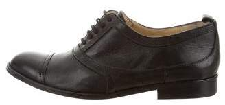 By Malene Birger Leather Round-Toe Oxfords