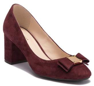 Cole Haan Tali Suede Bow Pump