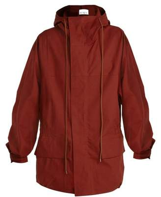 Raey Ripstop Hiking Jacket - Womens - Red
