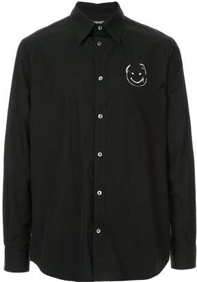Undercover black printed shirt