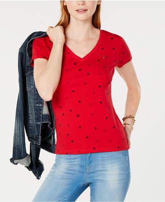Tommy Hilfiger Cotton Printed T-Shirt