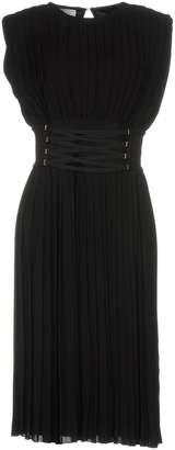Elisabetta Franchi PASSEPARTOUT DRESS by CELYN b. 3/4 length dresses