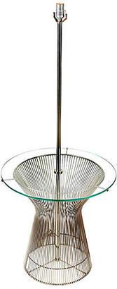 One Kings Lane Vintage 1960s Laurel Chrome & Glass Floor Lamp - 2-b-Modern