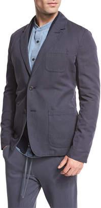 Vince Unstructured Sport Coat, Navy