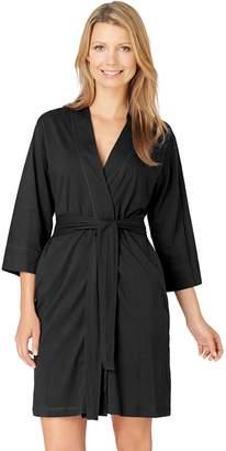 Jockey Women's Modern Cotton Wrap Robe
