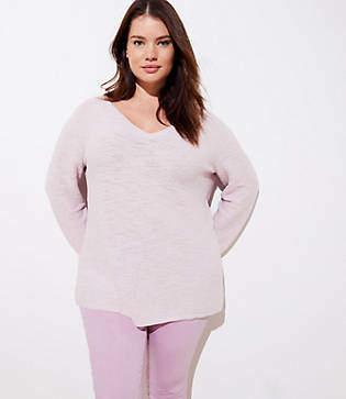 LOFT Plus V-Neck Sweater