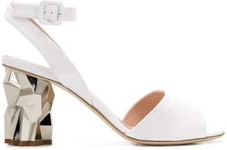 Giuseppe Zanotti Design sculpted heel sandals