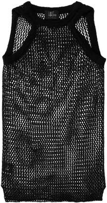 Lost & Found Ria Dunn open knit tank top