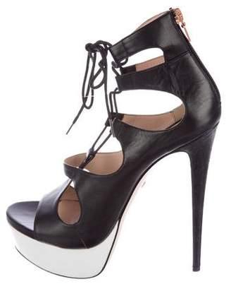 Ruthie Davis Platform Caged Sandals
