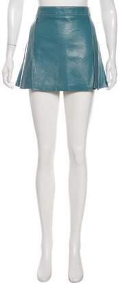 Chloé Leather Mini Skirt w/ Tags