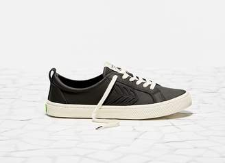 Cariuma CATIBA Low Black Leather Sneaker Women