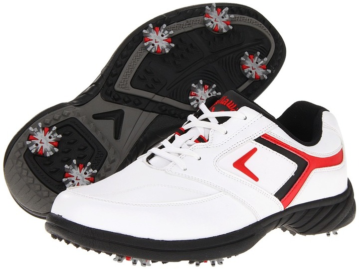 Callaway Sport Era (White/Black/Red) - Footwear