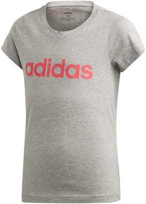 adidas Girls Essentials Linear Tee