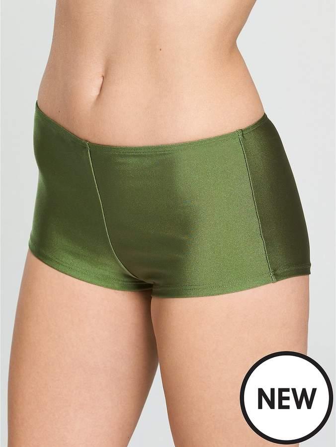Shapewear Bikini Short - Khaki