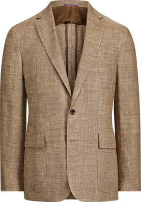 Ralph Lauren Linen-Blend Tweed Suit Jacket