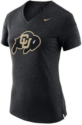 Nike Women's Colorado Buffaloes Fan V Top T-Shirt