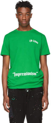 Off-White Green College T-Shirt