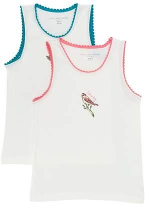 Stella McCartney weekend bird print vest set