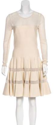 Alaia Knee-Length Knit Dress