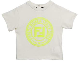 Fendi Boy's Logo T-Shirt, Size 12-24 Months