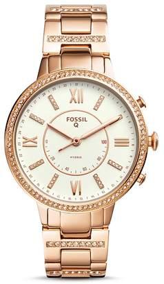 Fossil Q Virginia Hybrid Smartwatch, 36mm