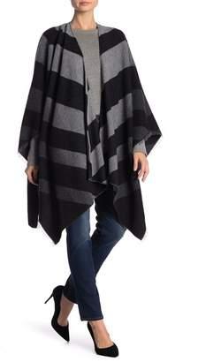 Eileen Fisher Chevron Wool Blend Shawl