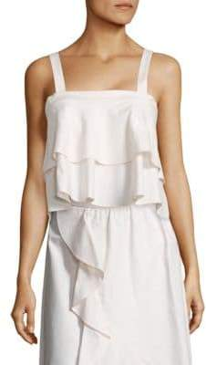Jolie Bow-Back Cotton Camisole