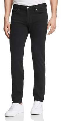 Finn S.M.N Studio Tapered Slim Fit Jeans in Black Rock