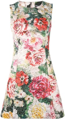 Dolce & Gabbana floral A-line dress
