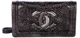 Chanel 2016 Python CC Flap Bag