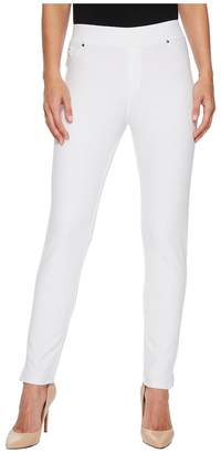 Mod-o-doc Stretch Knit Twill Skinny Ankle Length Pants Women's Casual Pants