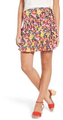 The Fifth Label Reunion Floral Print Wrap Skirt