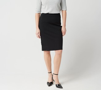 Linea By Louis Dell'olio by Louis Dell'Olio Super Ponte Knit Pull-On Skirt