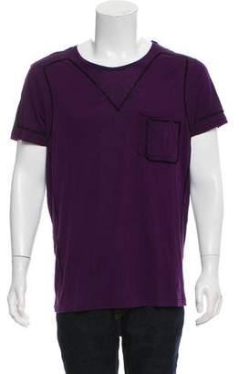 Bottega Veneta Short Sleeve Scoop Neck T-Shirt