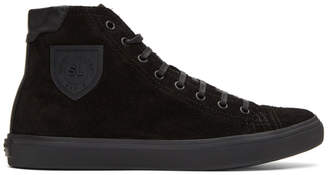 Saint Laurent Black Bedford Sneakers