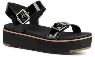 UGG Women's Angie Leather Platform Sandals