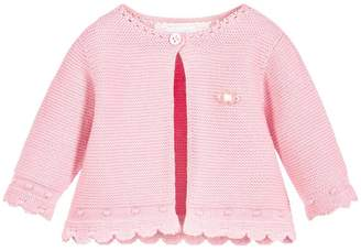 Mayoral Pink Sweater Cardigan