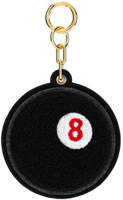 Chaos 8-Ball bag charm