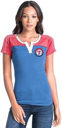 Women's Texas Rangers Colorblock Tee
