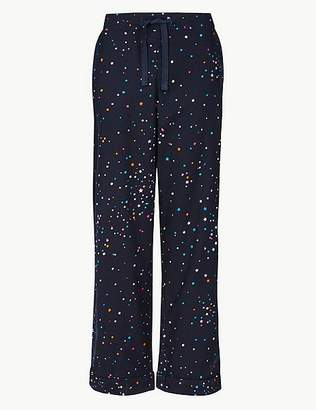Marks and Spencer Pure Cotton Star Print Pyjama Bottoms
