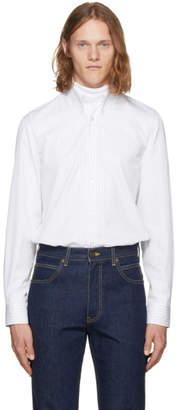 Calvin Klein White Multi Stripe Shirt