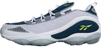 Classics DMX Run 10 Trainers White/Nocturnal Blue/Neon Yellow