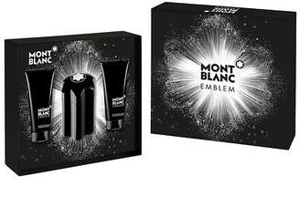 Montblanc NEW Mont Blanc Emblem Gift Set 3pce