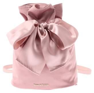 7153fca68e1e Maison de Fleur (メゾン ド フルール) - Maison de FLEUR 巾着リボンリュック ピンク