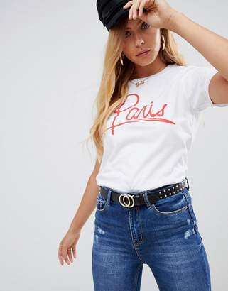 Asos Design DESIGN t-shirt with paris print