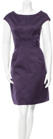 Marc JacobsMarc Jacobs Cap Sleeve Satin Dress